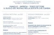 Comitato Interregionale Dei Consigli Notarili Delle Tre Venezie - FAMIGLIE - IMPRESA - TERZO SETTORE il ruolo del notaio nella società che cambia